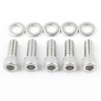 Stainless 34pcs Bolt Screw Kit for 99-06 Harley Primary Point /& Derby Cover