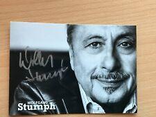Autogrammkarte - WOLFGANG STUMPH - SCHAUSPIELER - orig. signiert #470