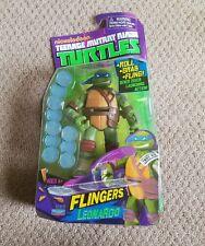 RARE Teenage Mutant Ninja Turtles Flinger Leonardo Action Figure MIB