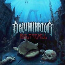DELUMINATOR - BUILT TO KILL (LP) NEU Gatefold Cover ltd yellow HC Hardcore