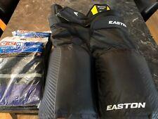 Easton Hockey Pants Black Size 30-32 plus 2 Pair Hockey Socks NEW