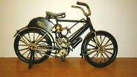 METAL MOTORIZED BICYCLE Toy Bike Cycling Model Home Bar Decor Figurine Handmade
