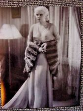 RARE STILL JEAN HARLOW IN SEXY GOWN ALMOST SEE THROUGH