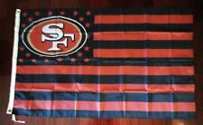 San Francisco 49ers 3x5 American Flag. US seller. Free shipping within the US!!!