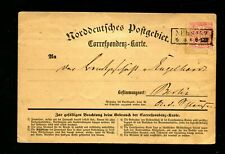 "Ndp - Env. 1870, Correspondence Carte "" Neusalz "" (#5653)"