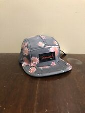 Diamond Supply Co Floral Camper 5 Panel Hat Hawaiian Aloha