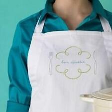 NIP Marth Stewart 'Bon Appetit' Embroidered Apron Kit