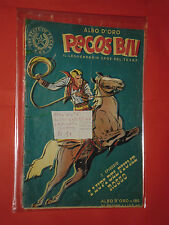 PECOS BILL FORMATO ALBO D'ORO N°186- 1°SERIE N° 1  A-1949  LUPI FIUME ROSSO