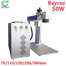 Raycus 50w fiber laser metal marking engraving machine 200*200mm Laser cutter