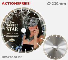 1x 230mm Cedima Secret Star Diamanttrennscheibe Beton hochwertiger Fotodruck!!