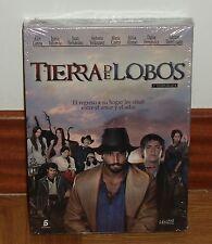 TIERRA DE LOBOS-1º TEMPORADA COMPLETA-5 DVD-NUEVO-PRECINTADO-SERIES ESPAÑOLAS