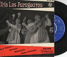 TRIO LOS PARAGUAYOS disco EP 45 g. ITALY Maria Dolores