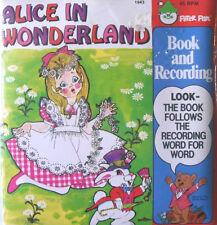 ALICE IN WONDERLAND 1943 Peter Pan Read Along Book & Record Set SEALED