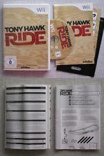 NINTENDO Wii  Tony Hawk Ride  Videospiel  ohne Skateboard