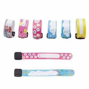 Outdoor Safety For Children Bracelet Identity Wrist Strap Kids ID Wristband