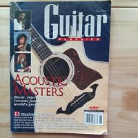 Vintage Guitar Classics Magazine Spring 1995 - Acoustic Masters