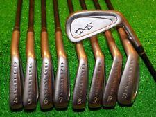 Mens RH Snake Eyes TC-01 Iron Set 3-SW Apache PM-40+ Graphite Shafts Golf Clubs