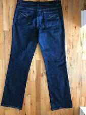 Style & Co woman's size 16 T Dark Blue Jeans Tummy Control high rise