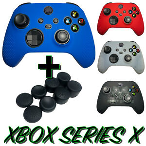 NEW! Gaming Skins Set Case Cover For Xbox Series X Controller Analog Thumb Grips