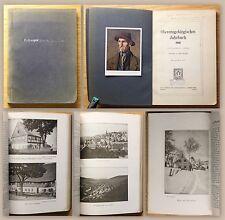 Knopf Obererzgebirgisches Jahrbuch 1910 Des Keilberg-Jahrbuches II. Jahrgang xz