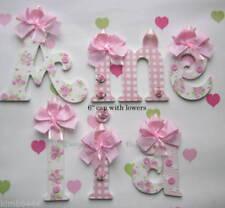 Flowers Wooden Letters Decorative Plaques & Signs