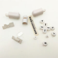 White Button Trigger Hinge Cover D-Pad A B X Y Set For Nintendo DS Lite DSL NDSL