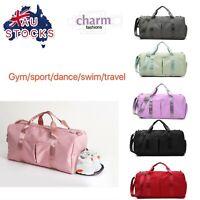 waterproof gym Swimming dance Yoga sport travel duffle shoulder luggage bag