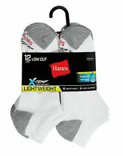 Hanes Men's FreshIQ X-Temp Low Cut Socks 12-Pack