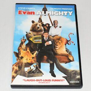 Evan Almighty 2007 Comedy Steve Carell Morgan Freeman John Goodman Widescreen