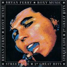 BRYAN FERRY & ROXY MUSIC - STREETLIFE, 20 GREAT HITS / CD (EG RECORDS EGCTV 1)
