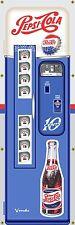 PEPSI COLA VENDING MACHINE ANTIQUE VINTAGE REMAKE ART BANNER MURAL SIGN 2x6