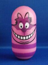 """#9 Cheshire Cat Kellogg Walt Disney 2005-2006 3"""" Tall Weebler Wobbler Bean Beanz"""