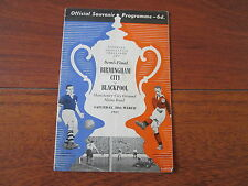 1951 FA CUP SEMI-FINAL BIRMINGHAM CITY v BLACKPOOL
