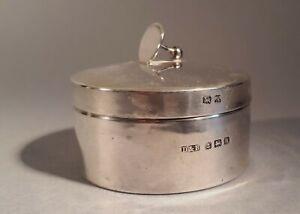 1925 Docker & Burn (D&B) Birmingham Sterling Silver Gents Studs Box. Menswear