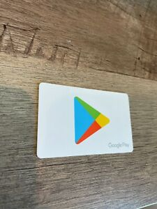 Google Play Gift Card $50 Free Shipping