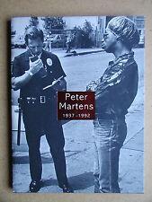 Peter Martens 1937-1992. 2000 HB in DJ 1st Edn. Dutch Photographer Photobook