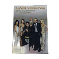 Las Vegas Third Season 3 Uncut & Uncensored (DVD, 2006, 5-Disc Set) NBC TV Show