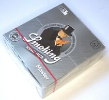 1 box smoking Master - 50 cahiers avec chacune 33 papers feuilles King size KS smk