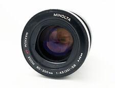 Minolta Maxxum AF Zoom 80-200mm f/4.5-5.6 S#18335991