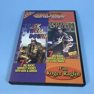 Track them Down & Silent Stalker DVD / Roger Raglin / Hunting Tips & Tricks