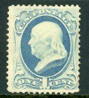 USA 1873 Franklin 1¢ Scott # 156 MNH J45 ⭐⭐⭐⭐⭐⭐