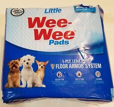Four Paws Wee-Wee Small Dog Training Pads, 28-Pack Housebreaking Pads