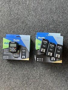 Phottix Odin TTL Flash Trigger & 3 Receivers For Nikon