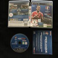 PS3 UEFA Euro 2016 France PES Pro Evolution Soccer OVP Playstation 3 #PS3#00077