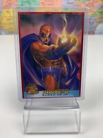 SHIPS SAME DAY 1995 Fleer X-Men Trading Card #55 Magneto
