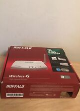 Buffalo Wireless-G High Speed Router WHR-G125 4-port