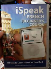 I Speak French Beginner's Course for Ipod - PC CD ROM - FAST POST