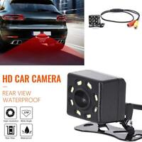 8 LED Night Vision Car Rear View Camera Wide Angle HD Backup Parking Reverse Hot
