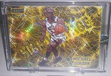 Michael Jordan 2021 Legacy High Voltage Gold Refractor #6/8!! Sealed GOAT Mint+