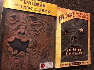Evil Dead Book of the Dead 1 & 2 DVD Collector's Editions (Slipcases)
